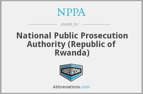 NPPA - National Public Prosecution Authority (Republic of Rwanda)