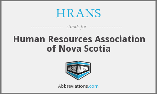 HRANS - Human Resources Association of Nova Scotia