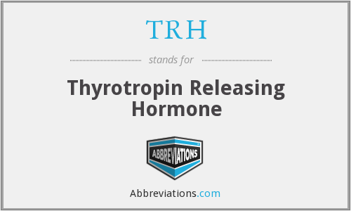 TRH - Thyrotropin Releasing Hormone