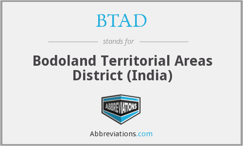 BTAD - Bodoland Territorial Areas District (India)
