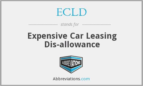 ECLD - Expensive Car Leasing Dis-allowance
