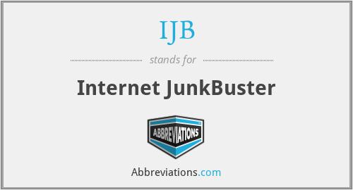 IJB - Internet JunkBuster