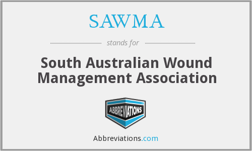 SAWMA - South Australian Wound Management Association