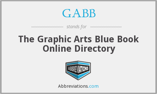 GABB - The Graphic Arts Blue Book Online Directory