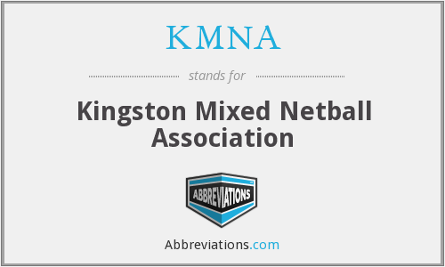 KMNA - Kingston Mixed Netball Association