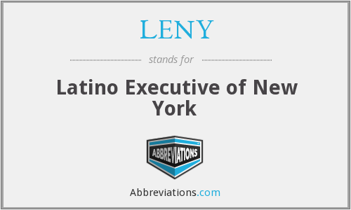 LENY - Latino Executive of New York