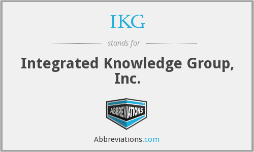 What does IKG stand for?