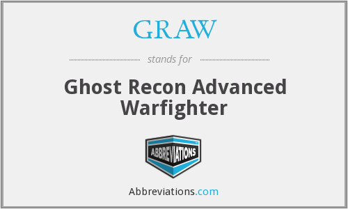 GRAW - Ghost Recon Advanced Warfighter