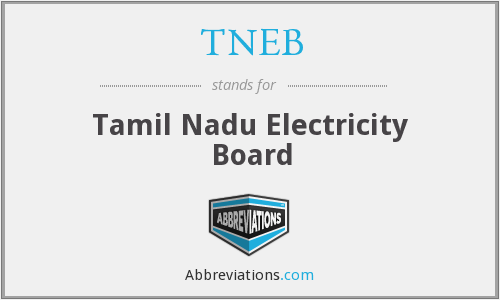 What does TNEB stand for?
