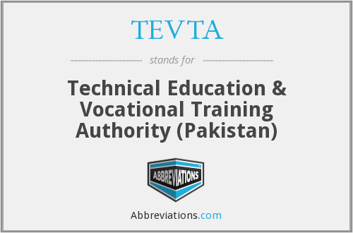 What does TEVTA stand for?
