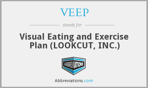 VEEP - Visual Eating and Exercise Plan (LOOKCUT, INC.)