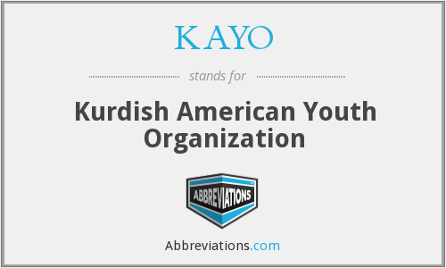 KAYO - Kurdish American Youth Organization