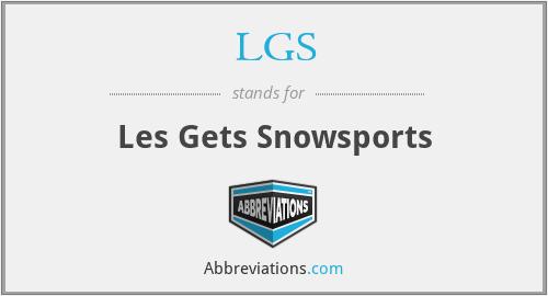 LGS - Les Gets Snowsports