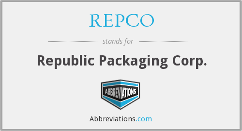 What does REPCO stand for?