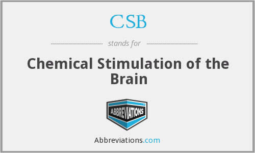 CSB - Chemical Stimulation of the Brain