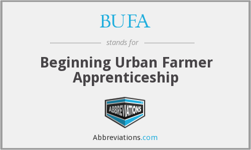 BUFA - Beginning Urban Farmer Apprenticeship