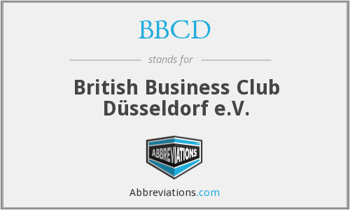 BBCD - British Business Club Düsseldorf e.V.