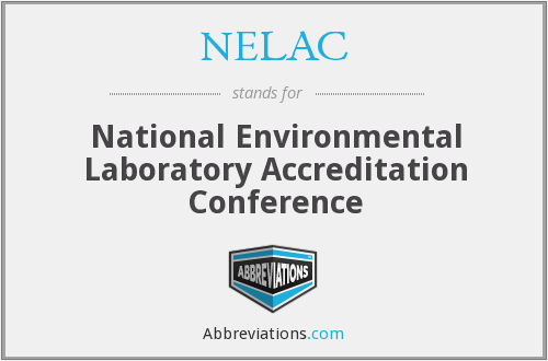 What does NELAC stand for?