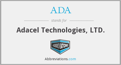ADA - Adacel Technologies Ltd