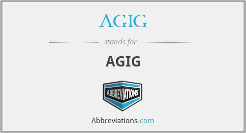 AGIG - AGIG