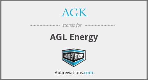 What does AGK stand for?