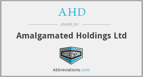 AHD - Amalgamated Holdings Ltd