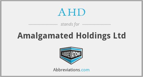 AHD - Amalgamated Holdings Ltd