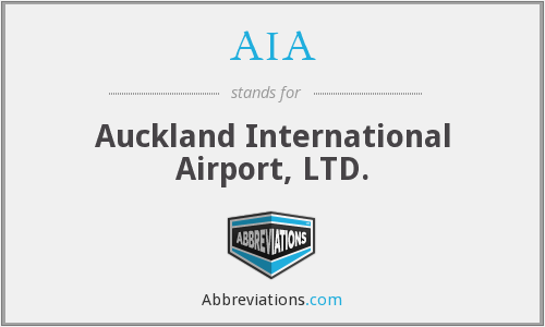 AIA - Auckland International Airport, LTD.