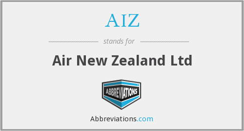 AIZ - Air New Zealand Ltd