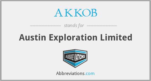 AKKOB - Austin Exploration Limited