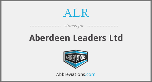 ALR - Aberdeen Leaders Ltd