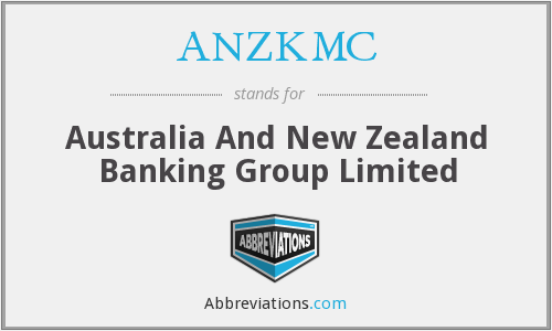 ANZKMC - Australia And New Zealand Banking Group Limited