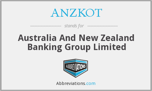 ANZKOT - Australia And New Zealand Banking Group Limited