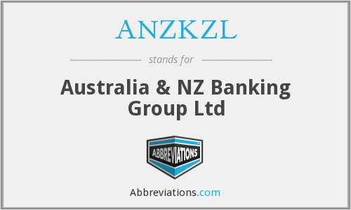 What does ANZKZL stand for?
