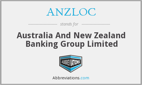 ANZLOC - Australia And New Zealand Banking Group Limited
