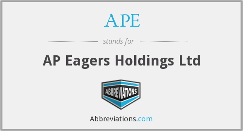 APE - AP Eagers Holdings Ltd