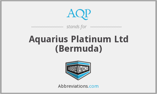 AQP - Aquarius Platinum Ltd (Bermuda)