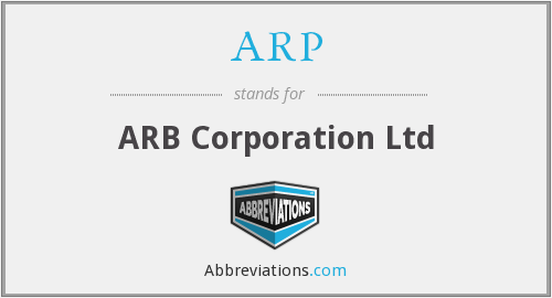 ARP - ARB Corporation Ltd