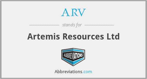 ARV - Artemis Resources Ltd