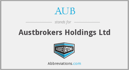 AUB - Austbrokers Holdings Ltd