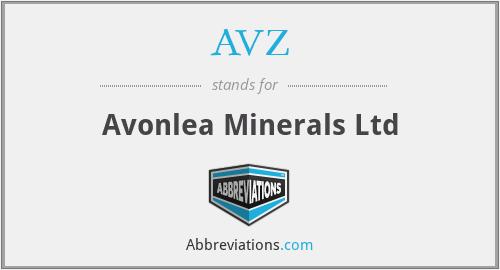 AVZ - Avonlea Minerals Ltd