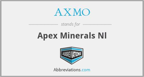 AXMO - Apex Minerals Nl