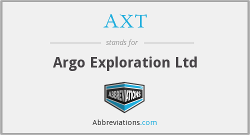 AXT - Argo Exploration Ltd