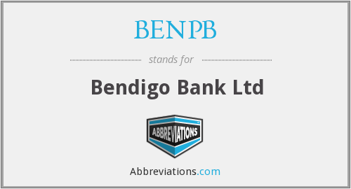 BENPB - Bendigo Bank Ltd