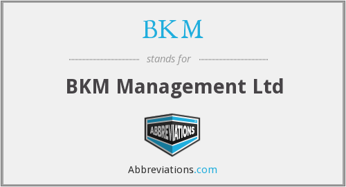 BKM - BKM Management Ltd