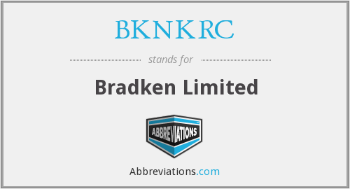 What does BKNKRC stand for?