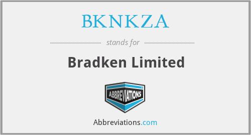 BKNKZA - Bradken Limited