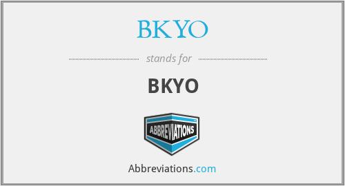 BKYO - BKYO