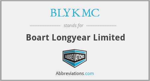 BLYKMC - Boart Longyear Limited