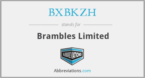 BXBKZH - Brambles Limited
